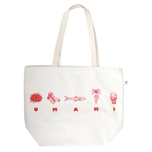 Wormfun UMAMI Tote for Umami Mart 100% Cotton Bag