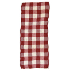 Vintage Red Check Towel