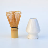 Seto Stone White Matcha Whisk Holder