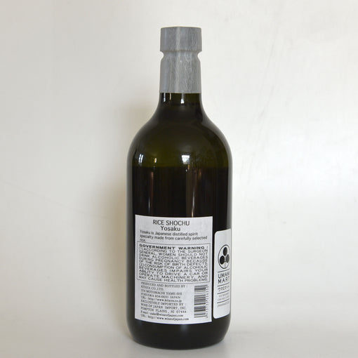 Yosaku Rice Shochu (BTL 25 oz)