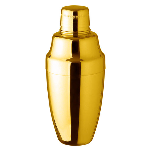 24K Gold-Plated Cobbler Shaker