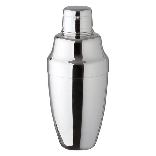 Japanese Yukiwa Stainless Steel Cobbler Shaker for Cocktails