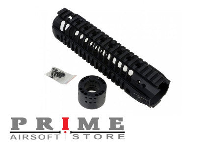"Madbull Airsoft Spike BAR Rail 9"" - Black"