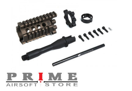 Madbull Airsoft Daniel Defense 4'' Lite Rail Kit - FDE