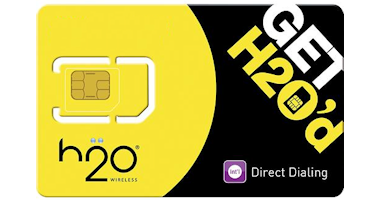 H20 Wireless prepaid simcard