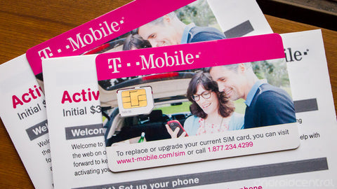 T-Mobile Monthly 4G prepaid simcard