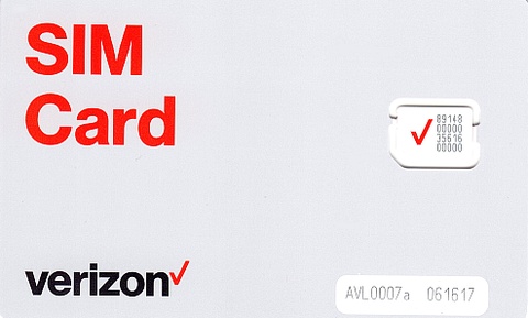 Verizon Prepaid Sim Card