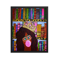 Sista Knowledge Framed poster