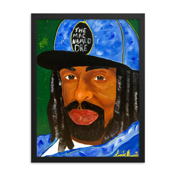 The Mac Named Dre Framed poster