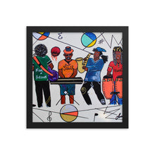 Load image into Gallery viewer, New School Jazz Framed poster