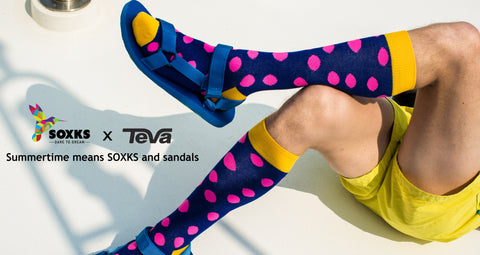 bfe221af2 SOXKS x Teva   how to make socks and sandals look their very best ...