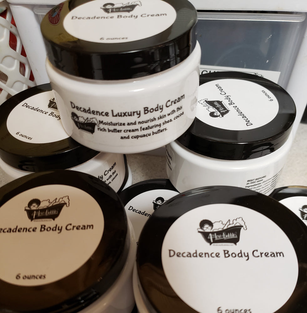 Decadence Body Cream Moisturizer