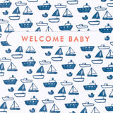 Tiny Boat Baby Mini Card