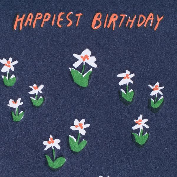 Happiest Birthday Meadow Card