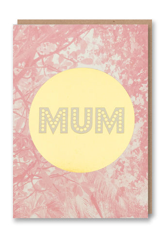 Mum Gold Seal Card
