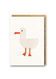 Bits and Bobs Seagull Letterpress Mini Card