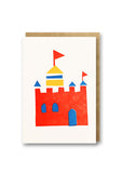 Bits and Bobs Castle Letterpress Mini Card