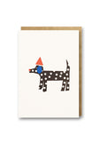 Bits and Bobs Dog Letterpress Mini Card