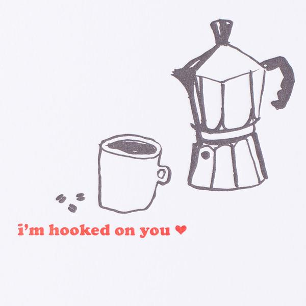 Hooked On You Mini Card