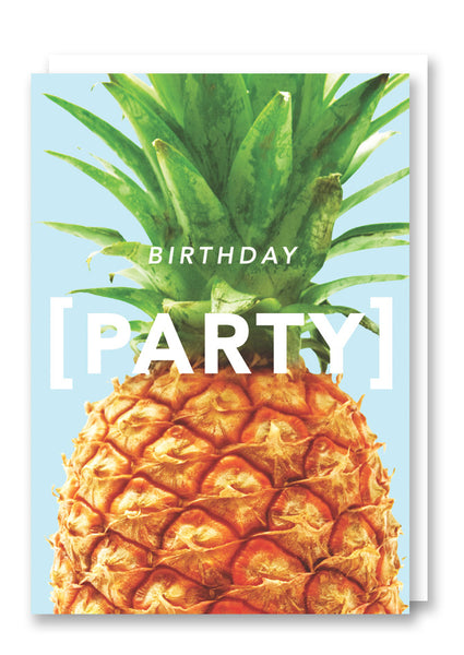Revista Birthday Party Card