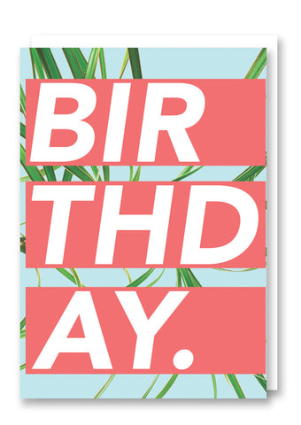 Revista Birthday Card