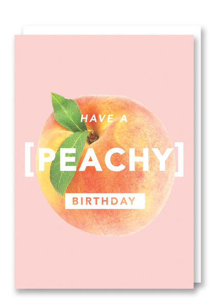 Revista Peachy Greetings Card Sold in 6's