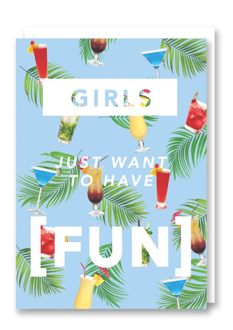 Revista Girls Have Fun Card
