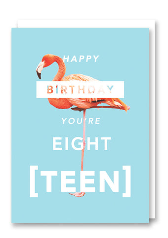 Revista Eighteen Greetings Card Sold in 6's