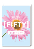 Revista Fifty Greetings Card Sold in 6's