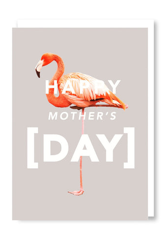 Revista Mother's Day Flamingo Card