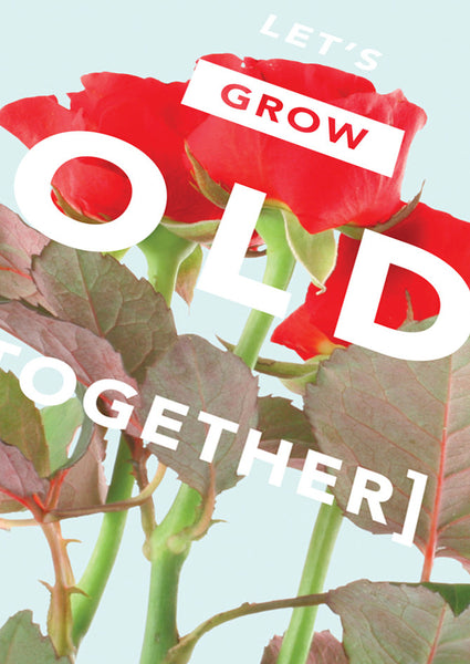 Revista Grow Old Together Card