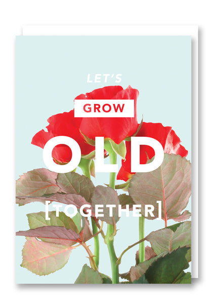 Revista Grow Old Together Greetings Card Sold in 6's
