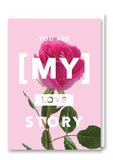 Revista My Love Story Greetings Card Sold in 6's