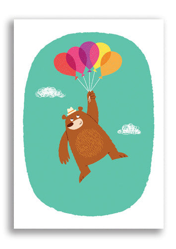 Gumo Bear Postcard Sold in 12's