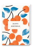 Darling Clementine Cherrie Greetings Card Sold in 6's