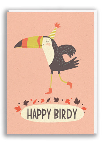 Happy Birdy Card