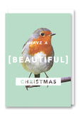 Revista Beautiful Christmas Card Sold in 6's