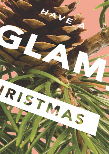 Revista Glam Christmas Card Sold in 6's