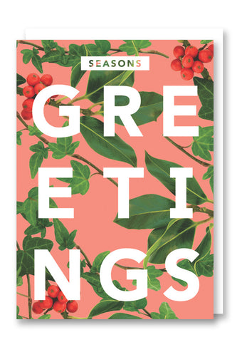 Revista Season's Greetings Christmas Card Sold in 6's