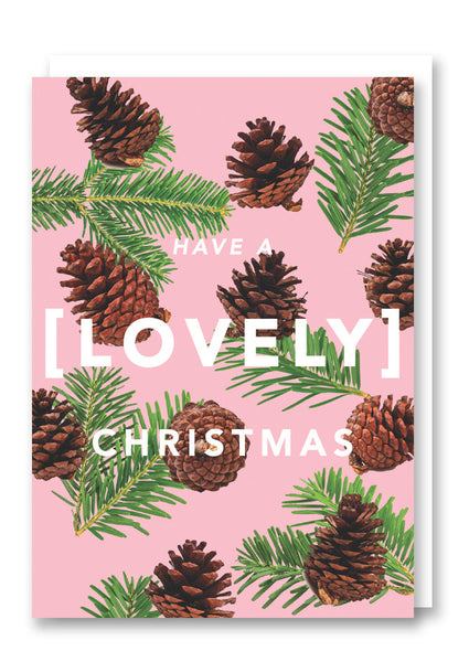 Revista Lovely Christmas Card Sold in 6's