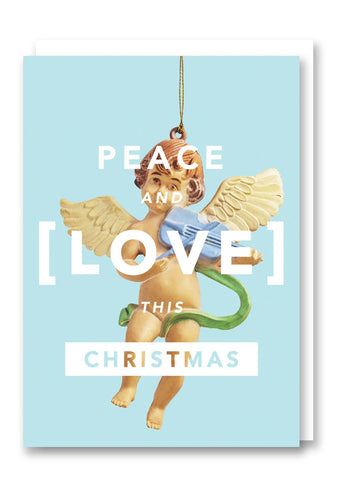 Revista Peace & Love Christmas Card