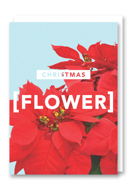 Revista Christmas Flower Card