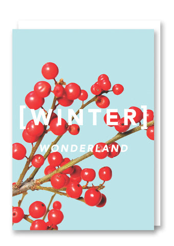 Revista Winter Wonderland Card Sold in 6's