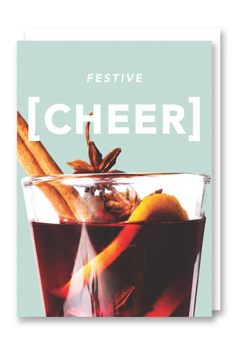 Revista Festive Cheer Christmas Card