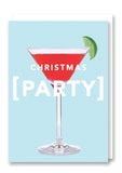 Revista Christmas Party Card