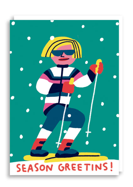 Ski Seasons Greetings