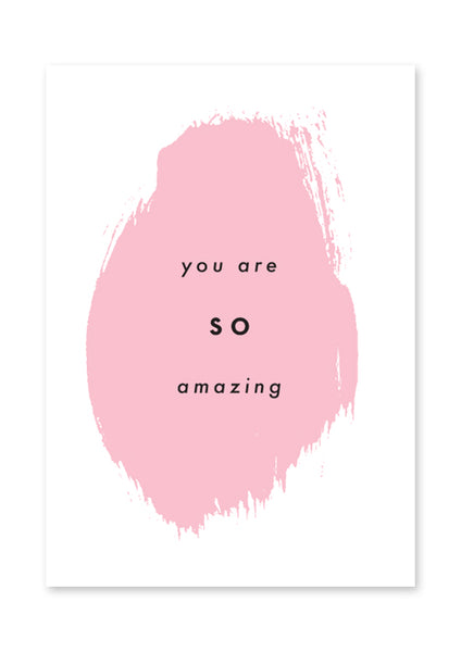 You Are So Amazing Postcard