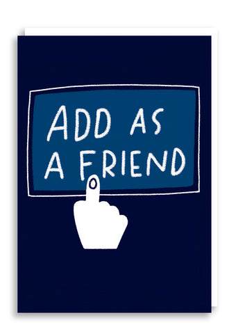 Add Friend Card