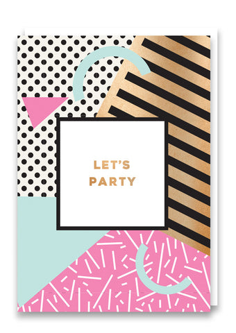 Milan Let's Party Card