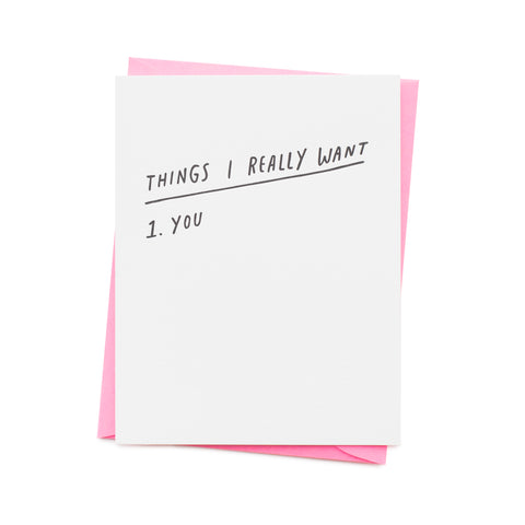 Things I Want - You